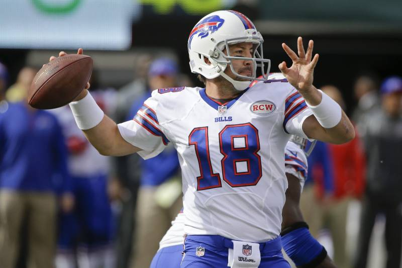 huge discount 43194 2b4f5 Buffalo BIlls' Kyle Orton Throws 4 TDs Among 10 Completions ...