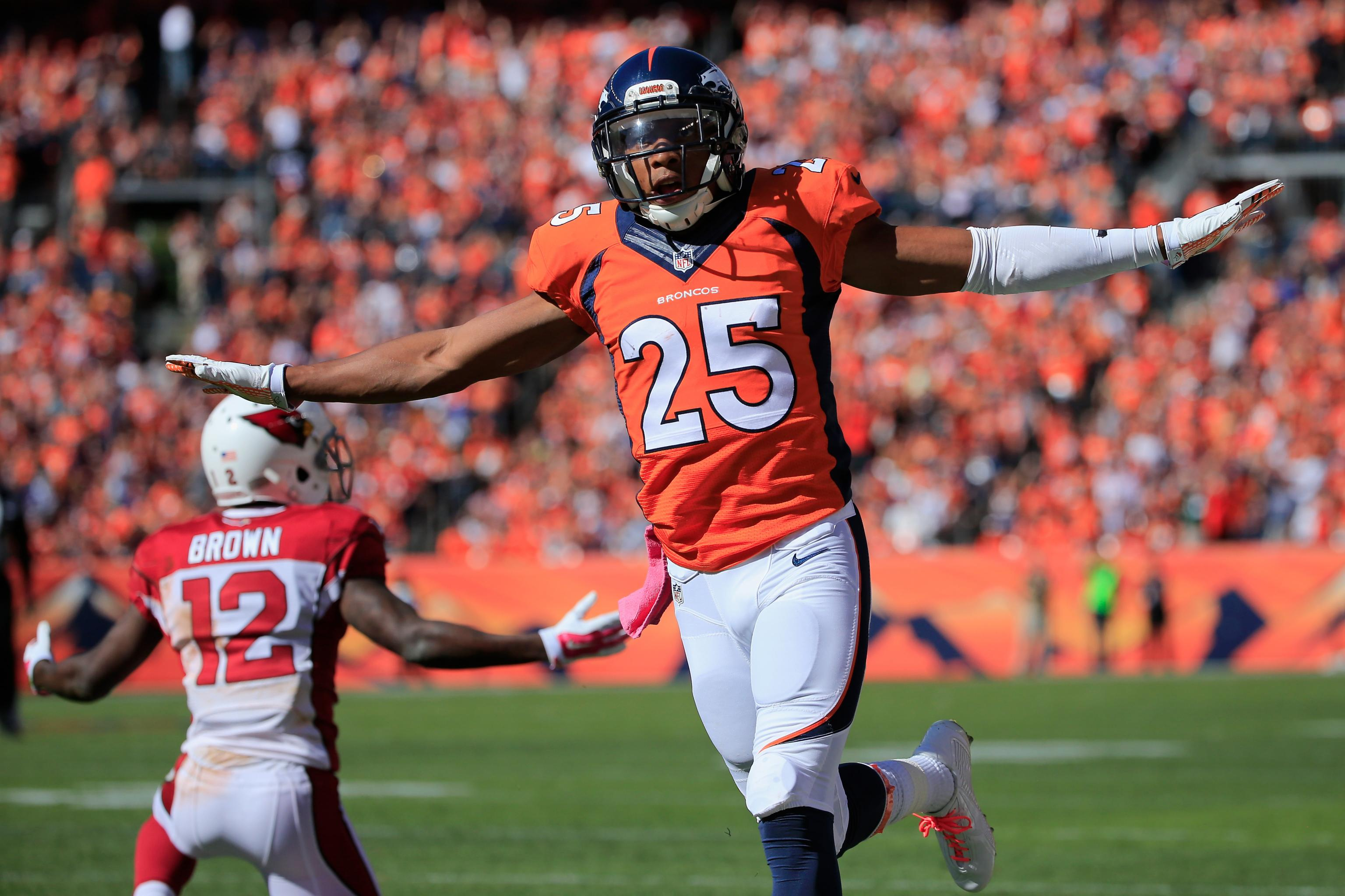 hot sale online 03dfc 9dbb1 Chris Harris Jr. Is Heart of Denver Broncos' Revamped ...