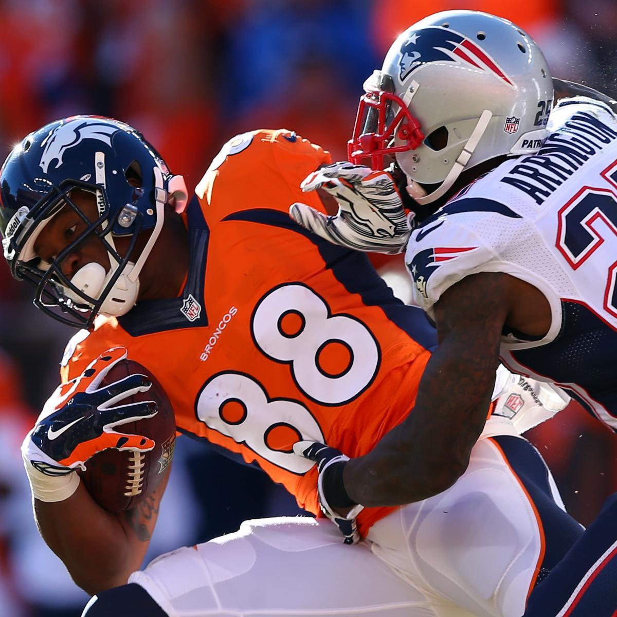 The Latest Denver Broncos News Bleacher Report: Denver Broncos Vs. New England Patriots: Complete Week 9