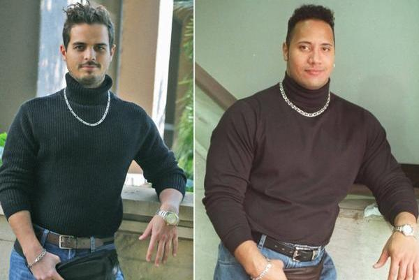 People Dress As Dwayne The Rock Johnson With Fanny Pack For