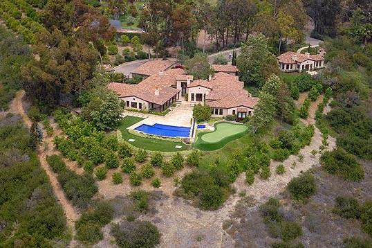 The gorgeous Santa Fey House of Phil Mickelson
