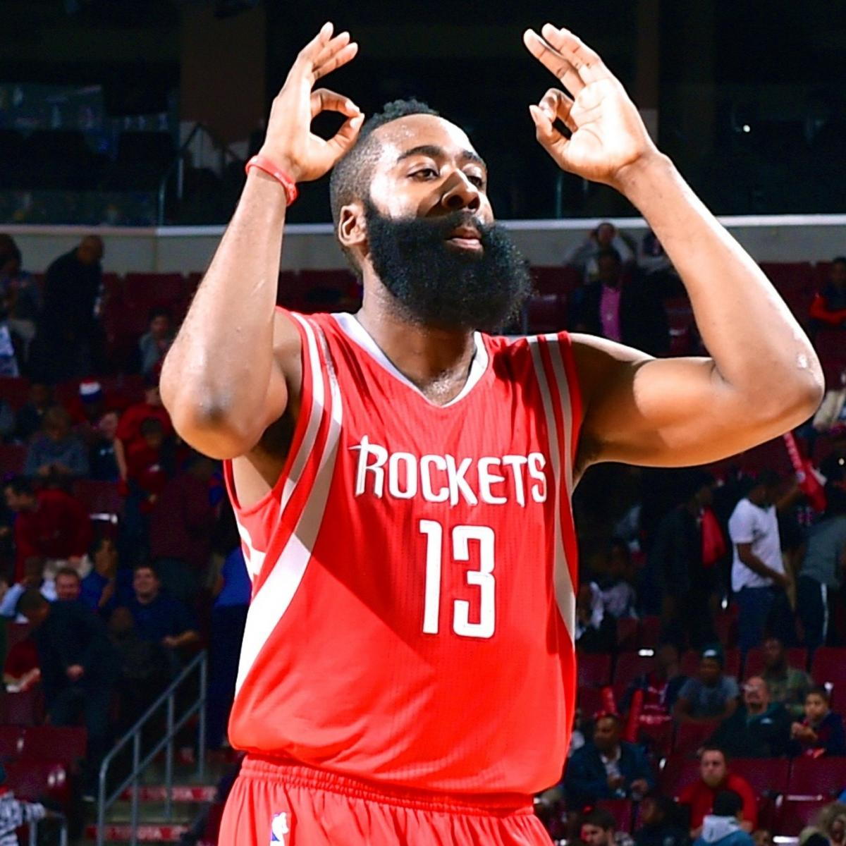 James Harden Points Last Night: The Numbers Behind James Harden's Hot Start And Other
