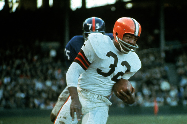 Jim Brown Nfl >> Past Stars Who Would Absolutely Dominate Today Bleacher