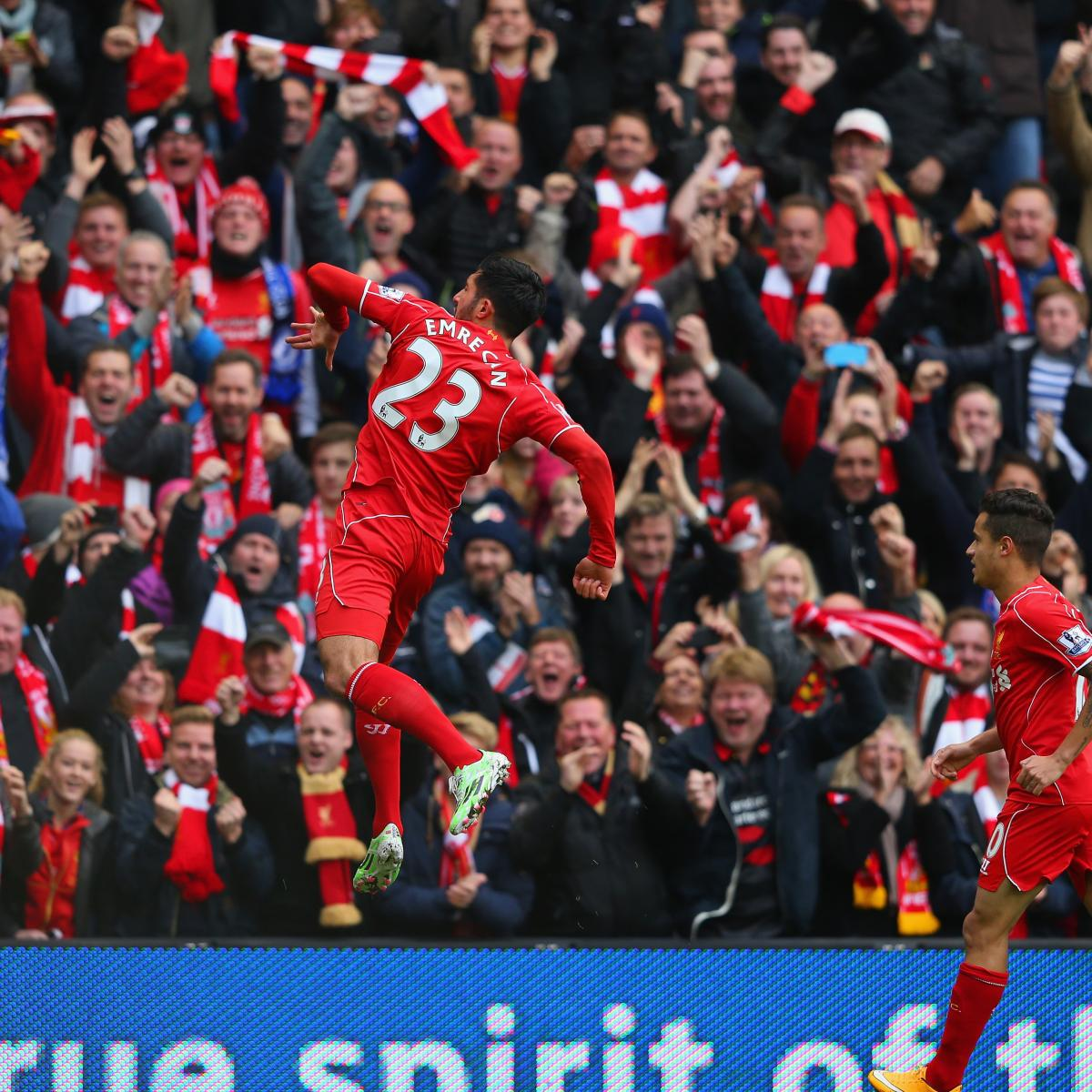 Liverpool Vs Chelsea: Liverpool Vs. Chelsea: Emre Can Scores But Gary Cahill And