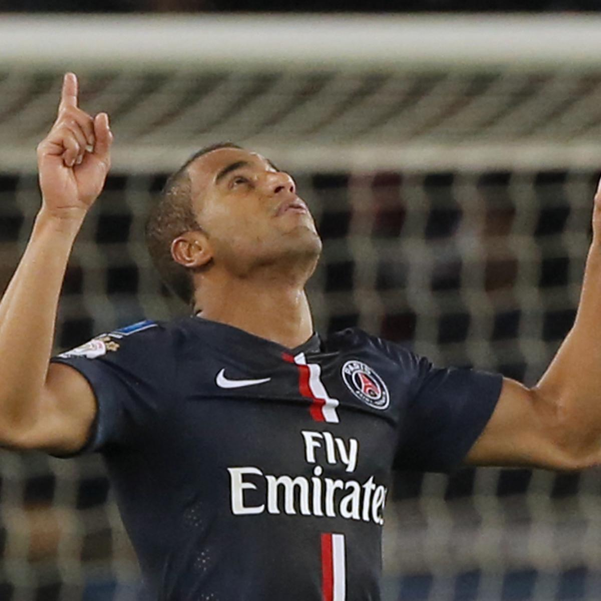 Lucas Moura Shows Big-Game Appetite As PSG See Off