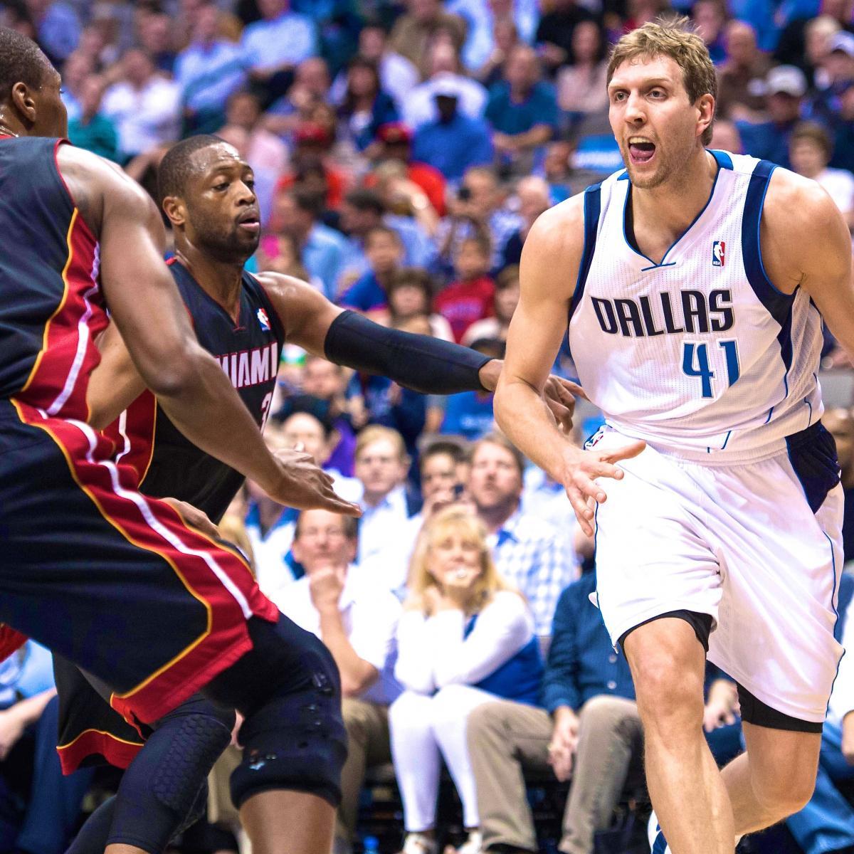 Miami Heat Vs. Dallas Mavericks: Live Score, Highlights