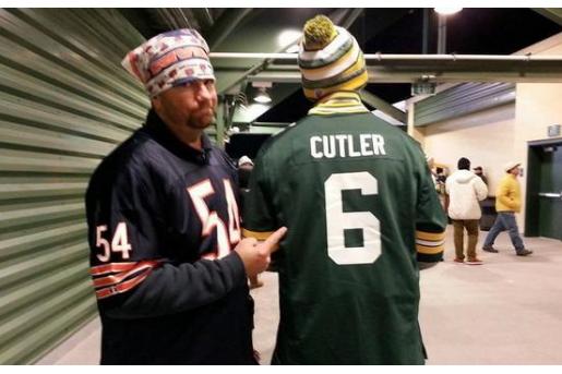 Packers Fan Customizes Green Bay Jersey in Honor of Bears QB Jay ...