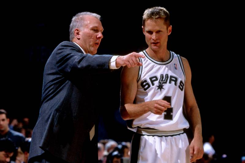 db766aff2 Gregg Popovich Says It Was  Easy to See  Steve Kerr Would Become Coach