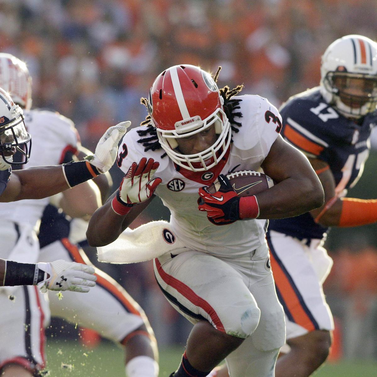 Auburn vs. Georgia: TV Info, Spread, Injury Updates, Game ...