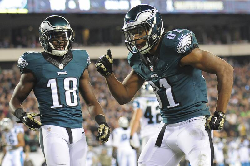 c3ed23a673f Could Jordan Matthews Replace Jeremy Maclin as the No. 1 Receiver in Philly?