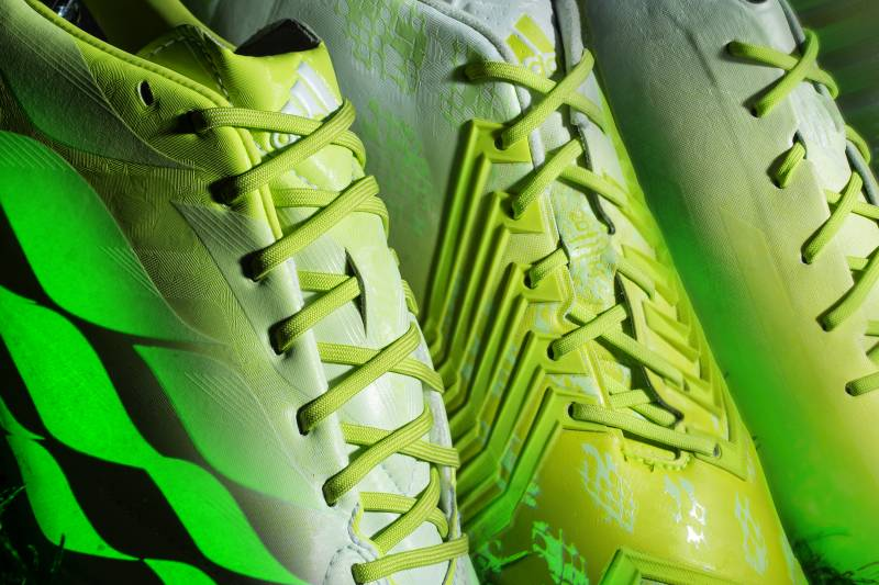 c7177a984 Adidas have revealed a new line of football boots—and they glow in the dark.