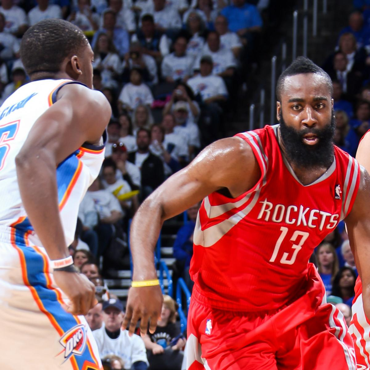 Houston Rockets Vs Okc: Houston Rockets Vs. Oklahoma City Thunder: Live Score
