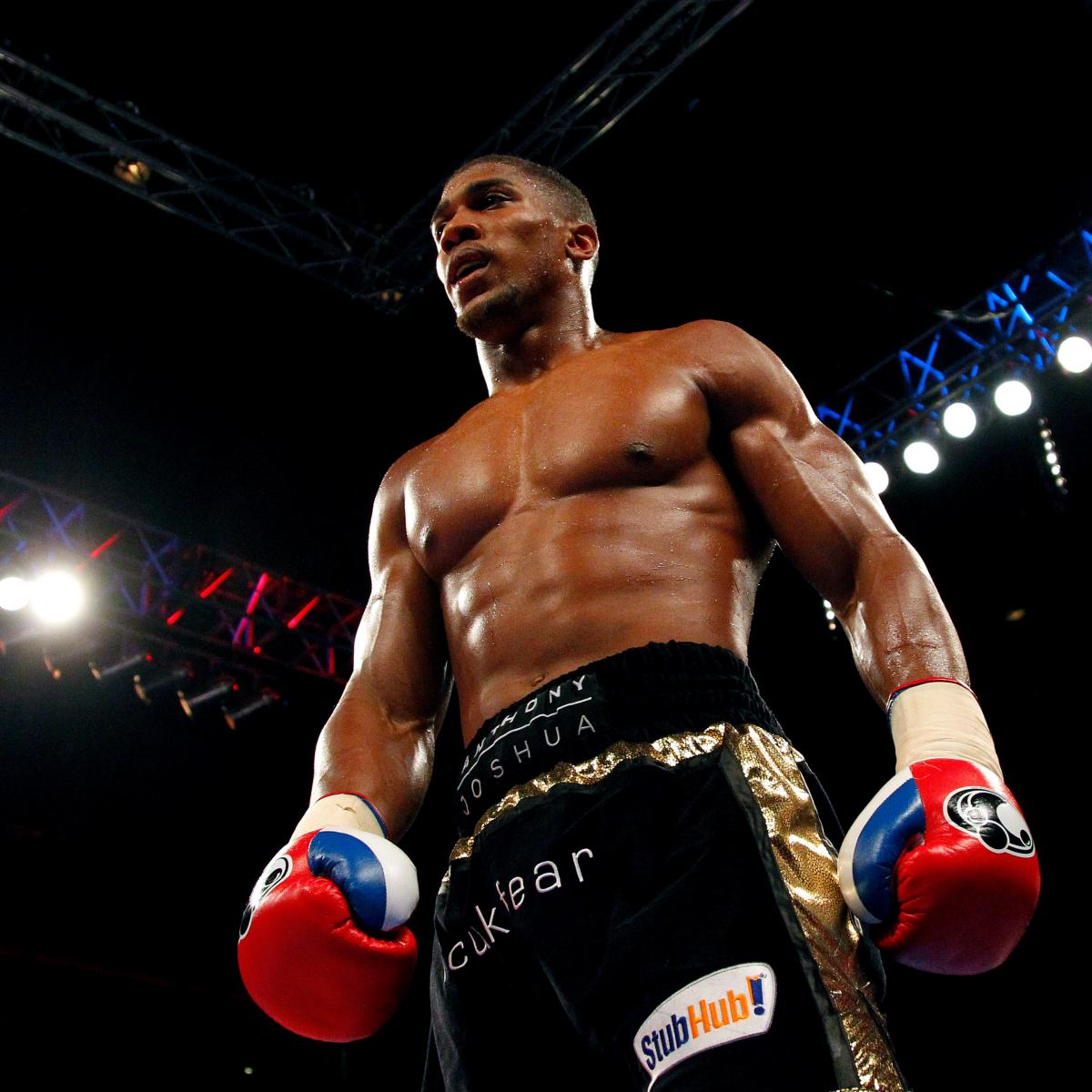 Anthony Joshua Vs. Michael Sprott: Fight Time, Date, Live