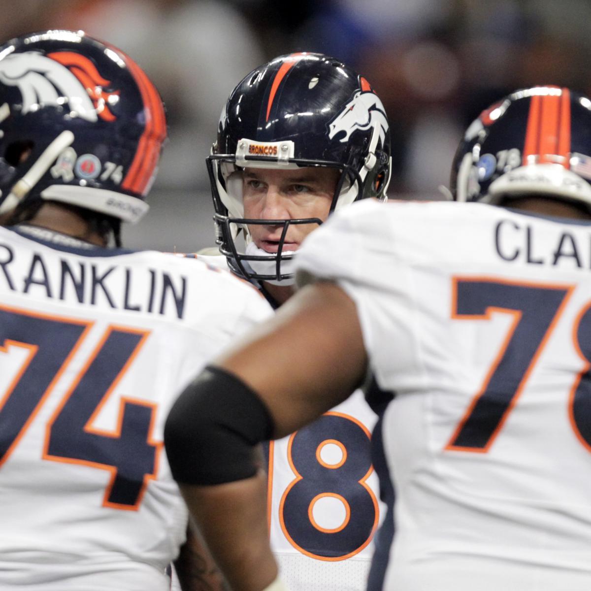 Denver News A Line: Offensive Line Issues Stalling Peyton Manning, Denver