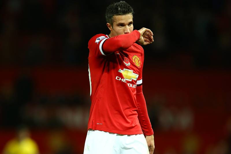 huge discount 72132 b85d7 Manchester United Transfer News: Robin van Persie Sale Eyed ...