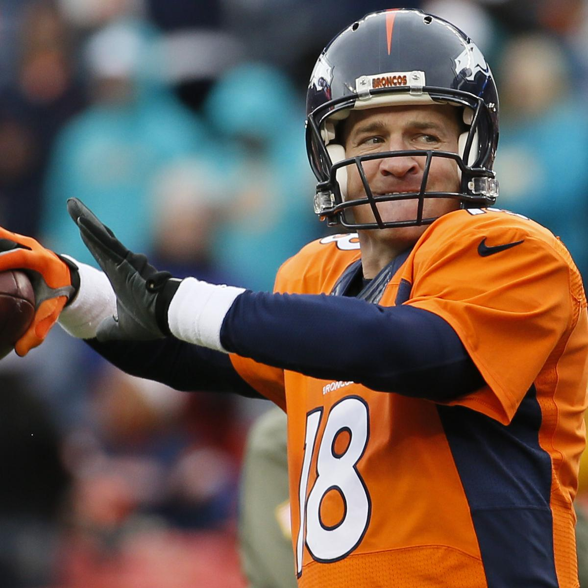 Miami Dolphins Vs. Denver Broncos: Live Denver Score And