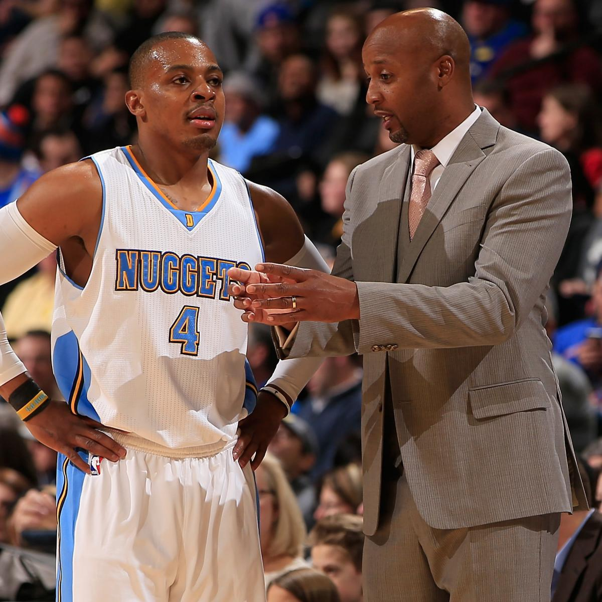 Nuggets Injury Report: Randy Foye Injury: Updates On Nuggets Guard's Hamstring