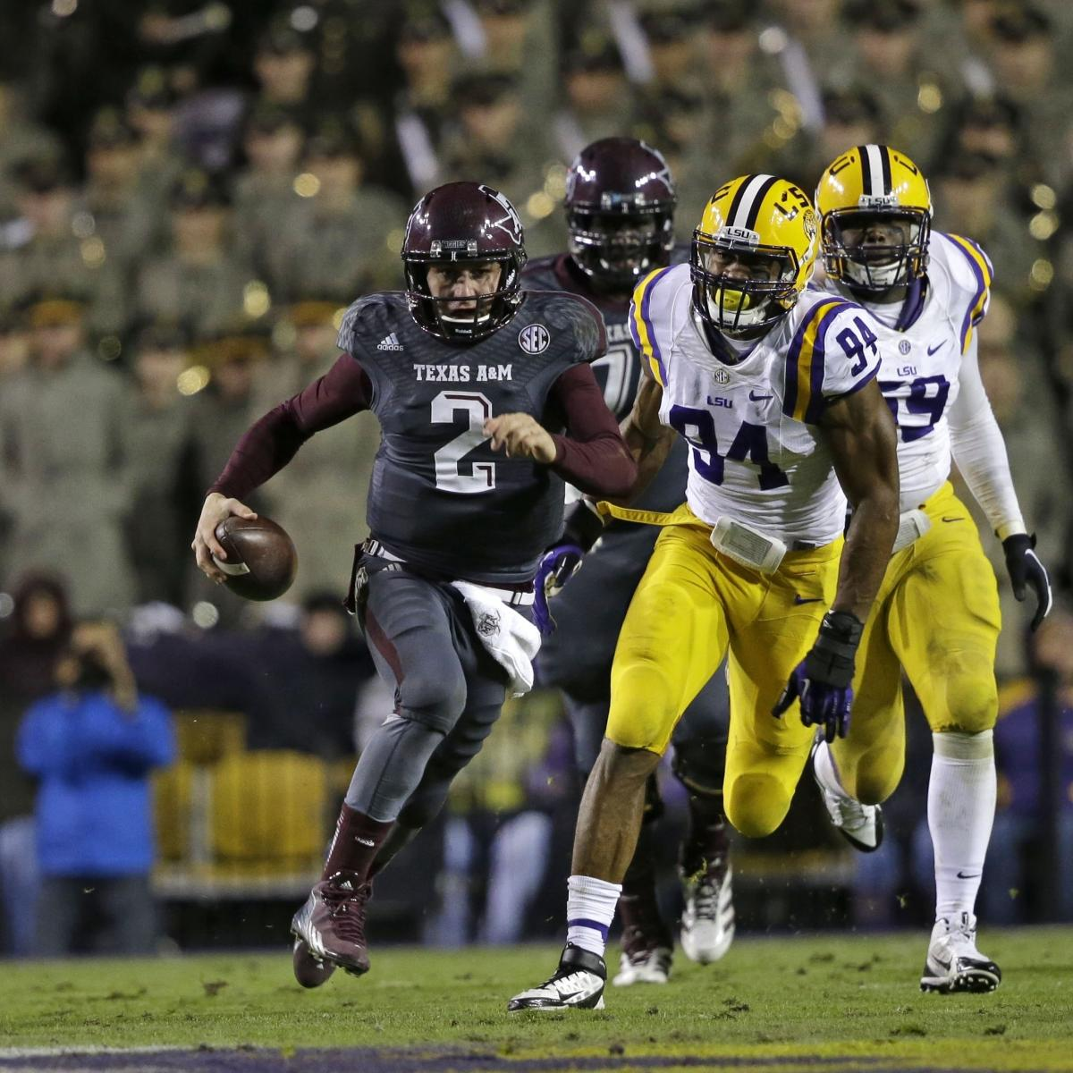 LSU Tigers vs. Texas A&M Aggies: Betting Odds, Analysis ...