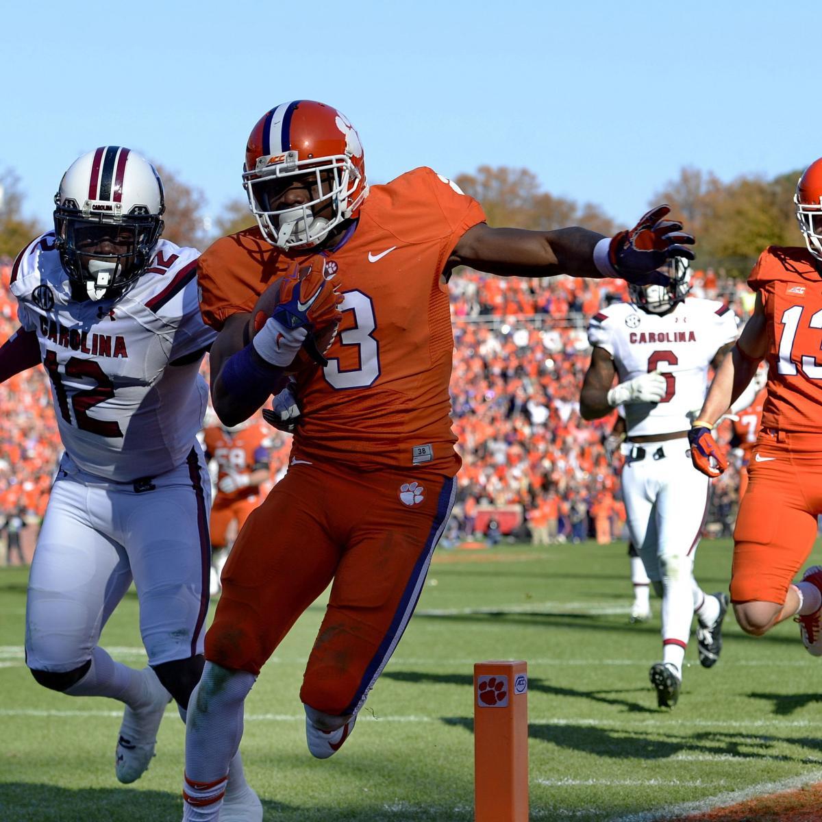 South Carolina vs. Clemson: Game Grades, Analysis for ...