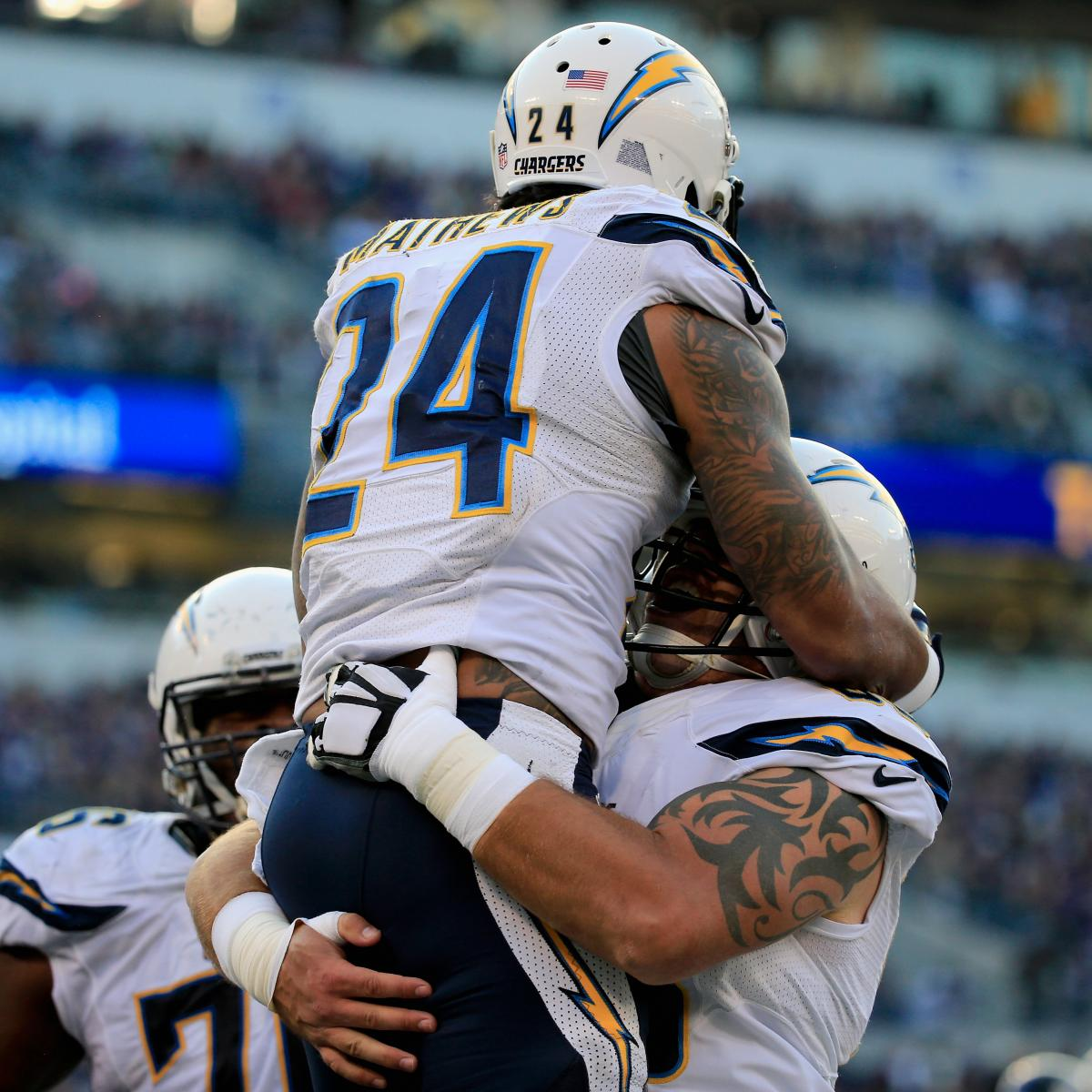 San Diego Chargers Current Score: Chargers Vs. Ravens: Score And Twitter Reaction From 2014