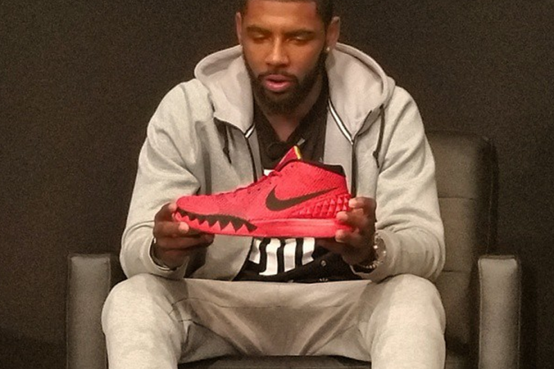 1f2b2cf16e1b Kyrie Irving and Nike Unveil His First Signature Shoe
