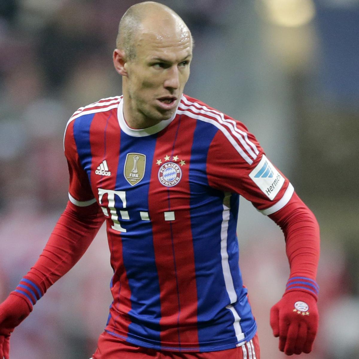 Manchester United Transfer News: Arjen Robben Fee Emerges