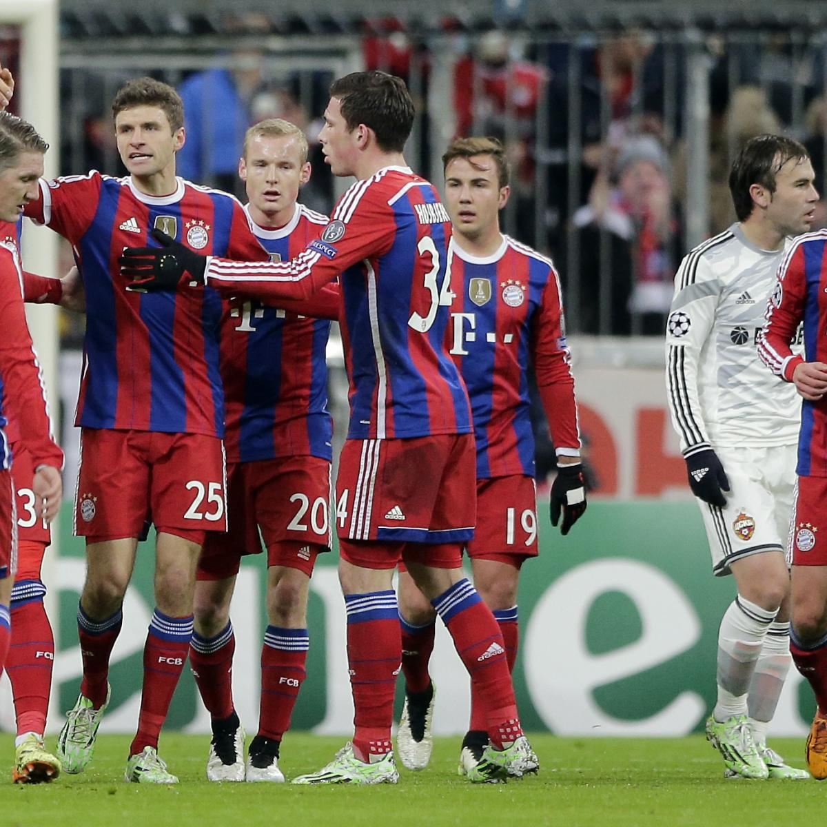 Psg Can Get Revenge On Chelsea In Champions League Last 16: UEFA Champions League 2014: Final Groups, Last-16 Teams