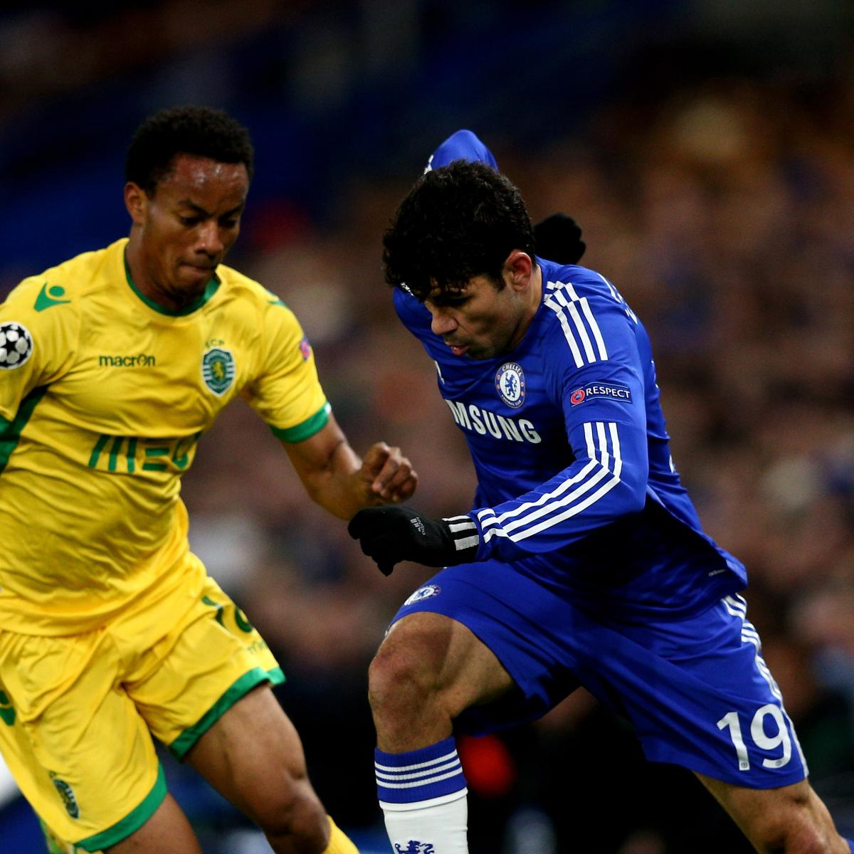 Psg Vs Chelsea Live Score Highlights From Champions: Chelsea Vs. Sporting Lisbon: Live Score, Highlights From