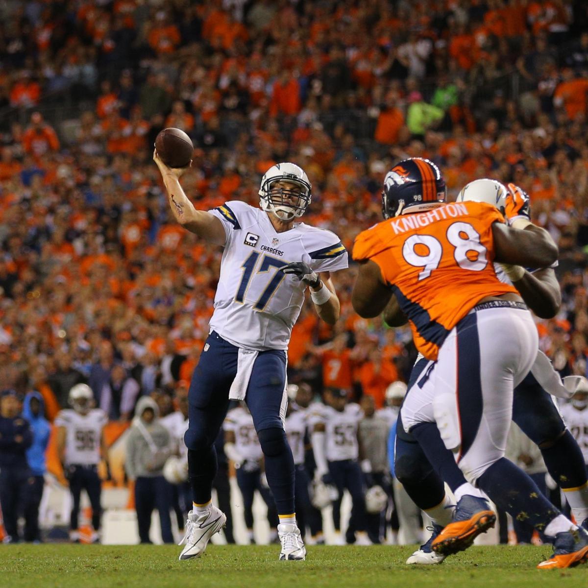 San Diego Chargers At Denver Broncos: Denver Broncos Vs. San Diego Chargers: Complete Week 15