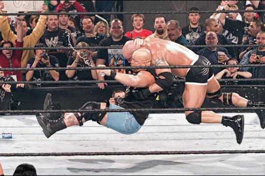 wwe missed opportunities stone cold vs bill goldberg bleacher