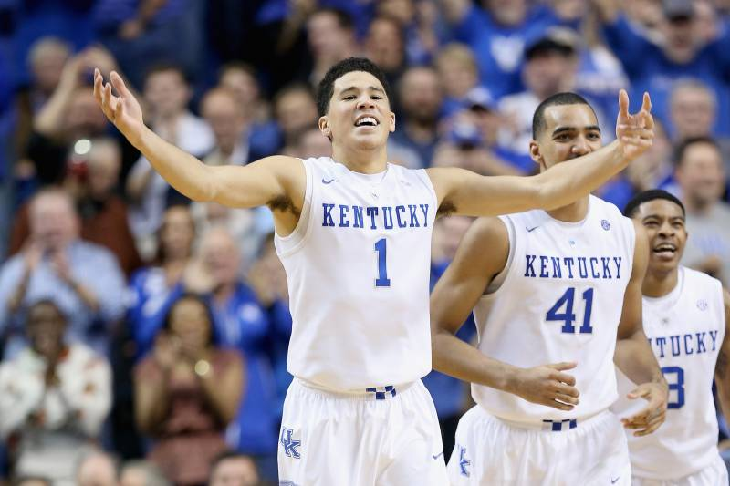 34899adb69ba Kentucky Basketball  Overshadowed Devin Booker Brings Needed Balance to  Wildcats