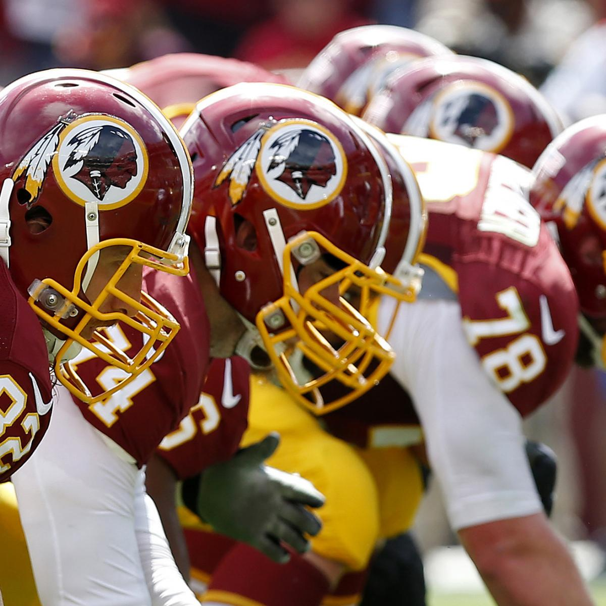 Redskins Can't Pin All of Their Problems on the Offensive Line | Bleacher  Report | Latest News, Videos and Highlights