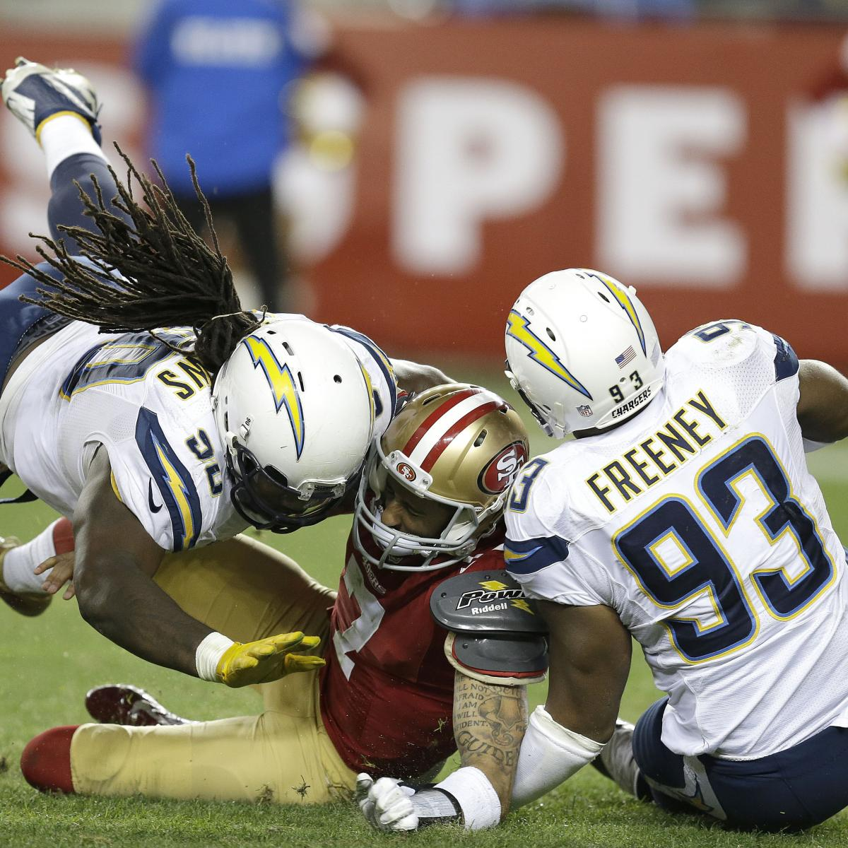 San Diego Chargers Cardinals: San Diego Chargers Vs. San Francisco 49ers: Video