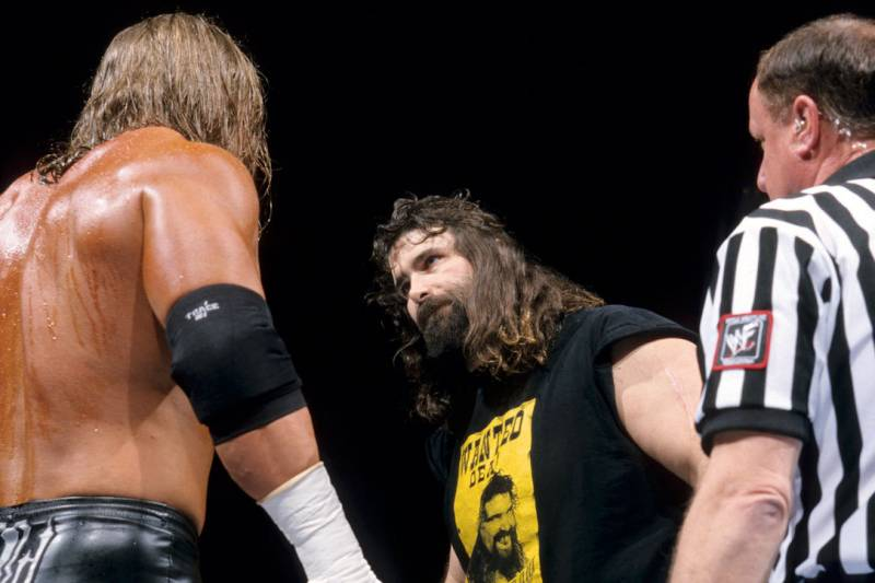 Image result for triple h cactus jack royal rumble