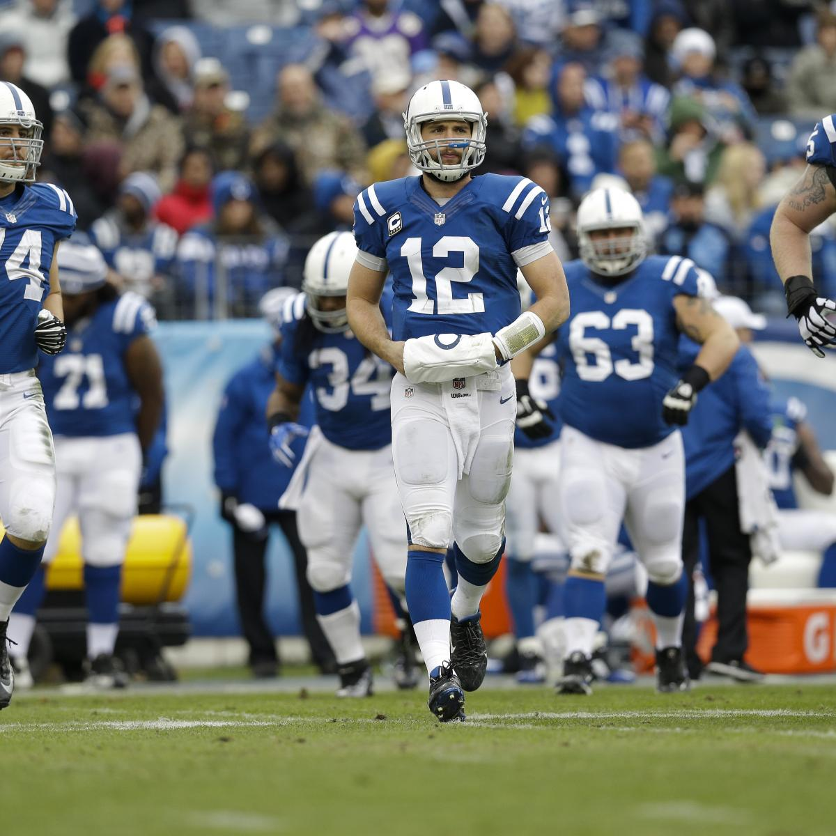 NFL Wild Card Weekend 2015: Updated Odds, TV Schedule And