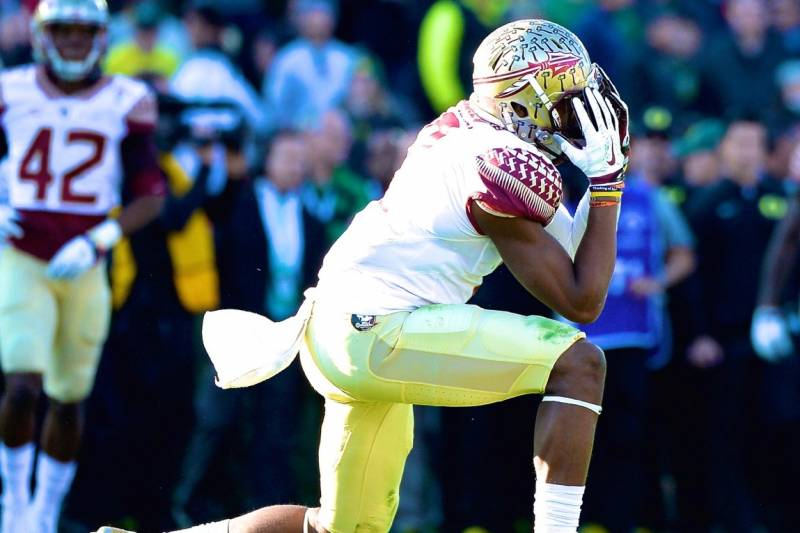 730f14cf7 FSU Player Says Cars Keyed and Tires Slashed in Tallahassee After Rose Bowl  Loss