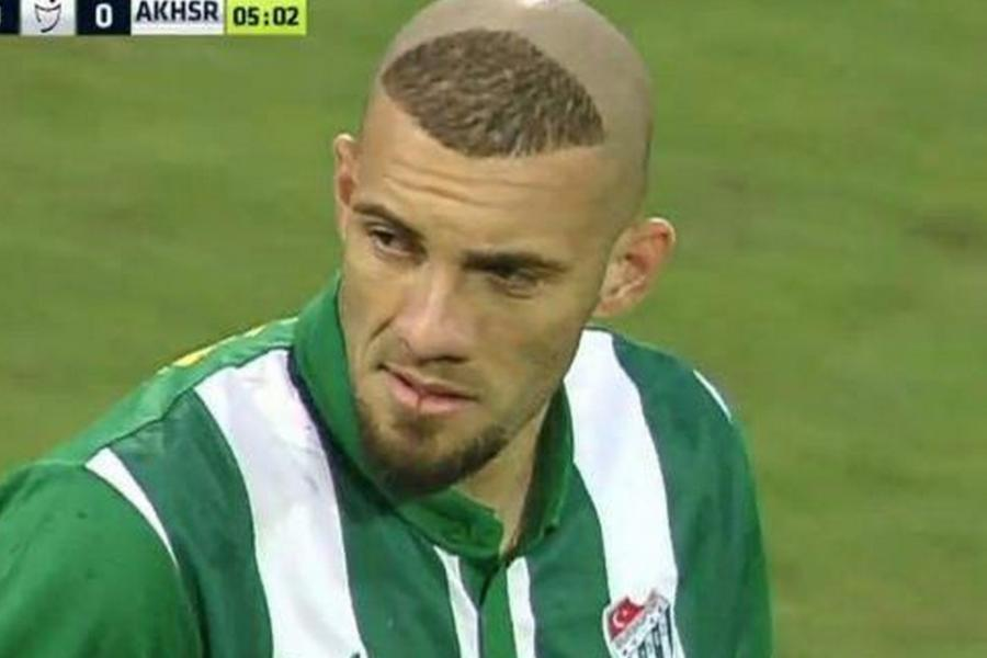 Bursaspor Striker Copies Ronaldos Iconic 2002 World Cup Haircut