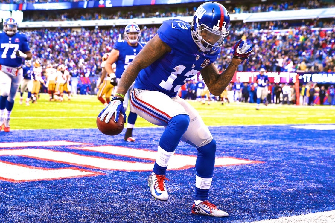 outlet store 24ffb 4a2f7 Odell Beckham Jr. Replaces Calvin Johnson in 2015 NFL Pro ...