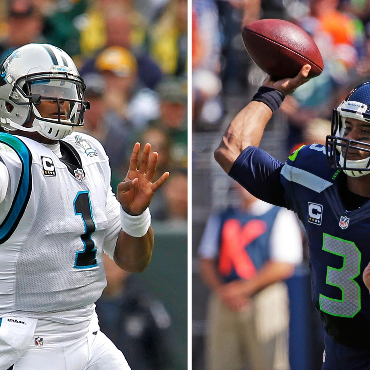 Panthers vs. Seahawks: Final Odds, Schedule, Prediction for 2015 Divisional Game | Bleacher ...