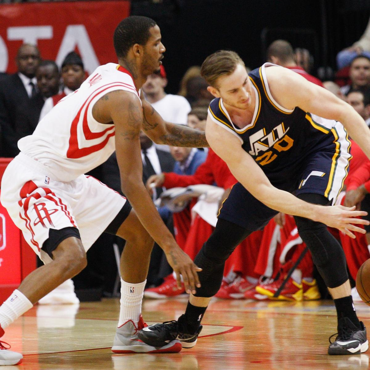 Houston Rockets Vs Utah Jazz: Utah Jazz Vs. Houston Rockets 1/10/15: Video Highlights