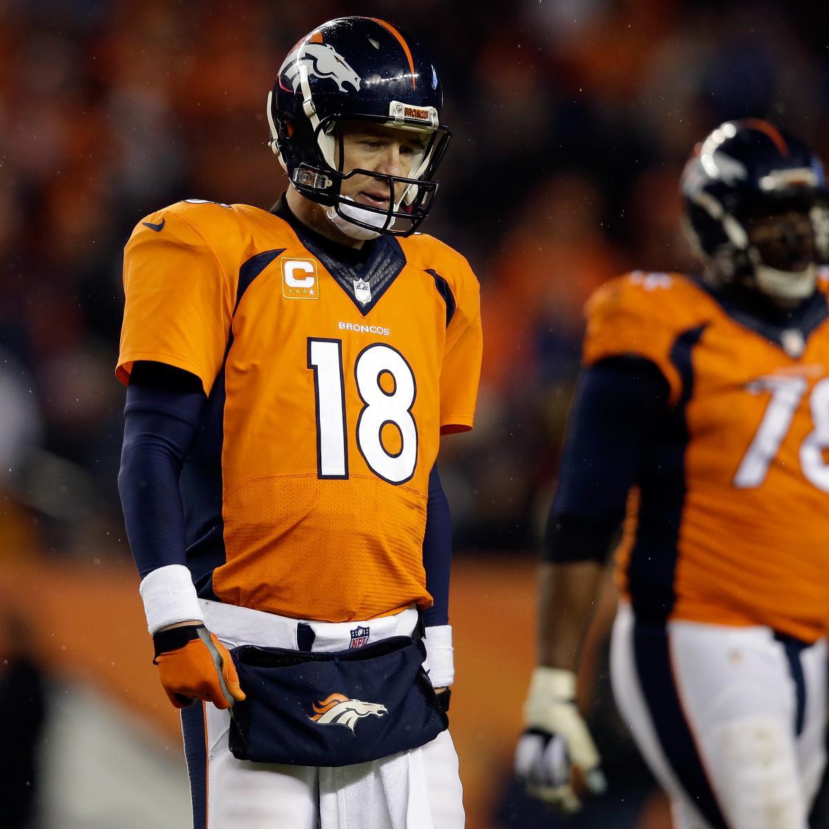 Is Peyton Manning Done As A Super Bowl-Caliber Quarterback