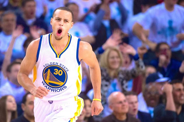 official photos 071d8 e9a72 Stephen Curry Jumps to No. 2 Behind LeBron James in NBA ...