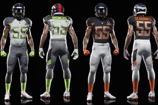 a942821e9 Nike Unveils New NFL Elite 51 Uniforms for 2015 NFL Pro Bowl | Bleacher  Report | Latest News, Videos and Highlights