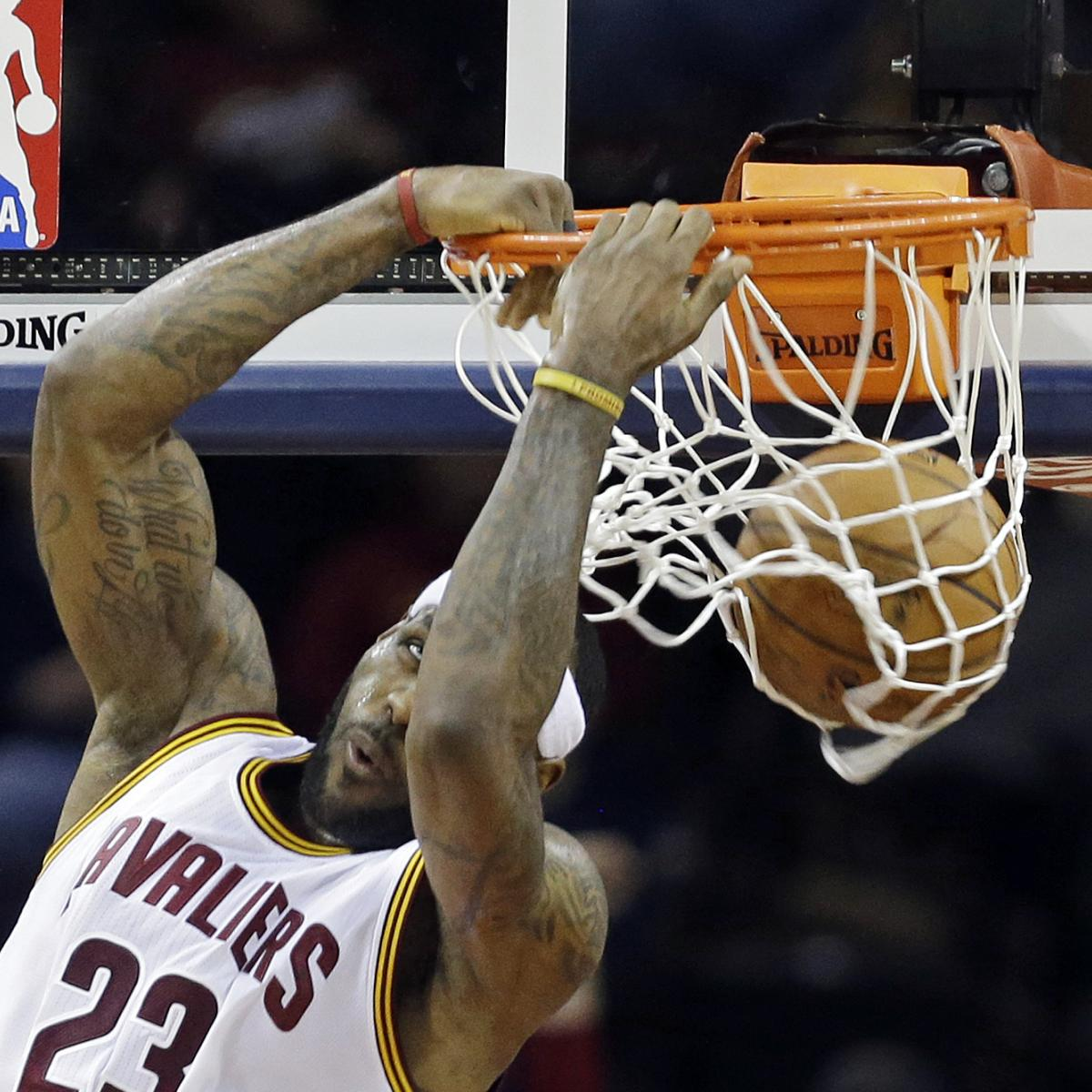 Cleveland Cavaliers Fans Scale Walls To Get Photos Of Nba: NBA All-Star Game 2015 Rosters: Starters, Snubs And