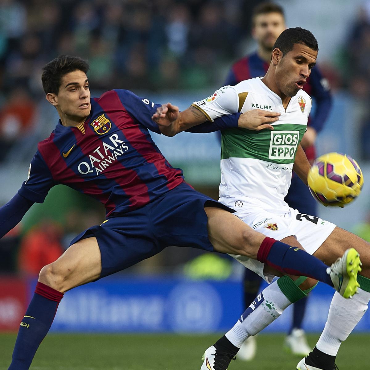 Elche CF vs. FC Barcelona 0-6 Highlight Goal Liga BBVA 24 ...  |Barcelona- Elche