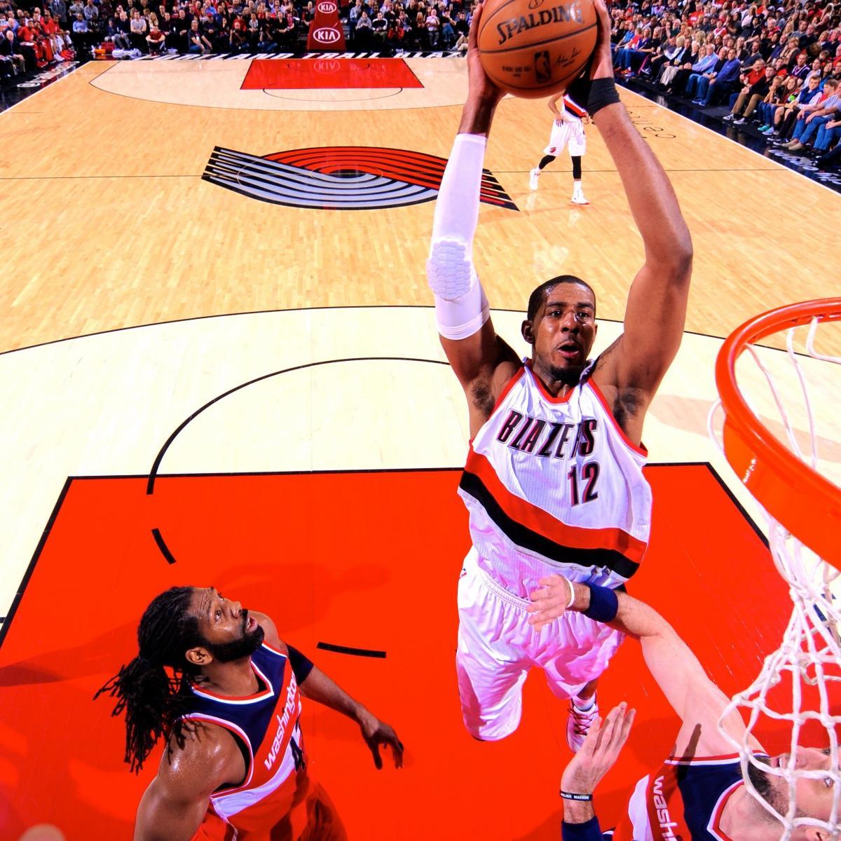 Portland Blazers Live Score: Washington Wizards Vs. Portland Trail Blazers: Live Score