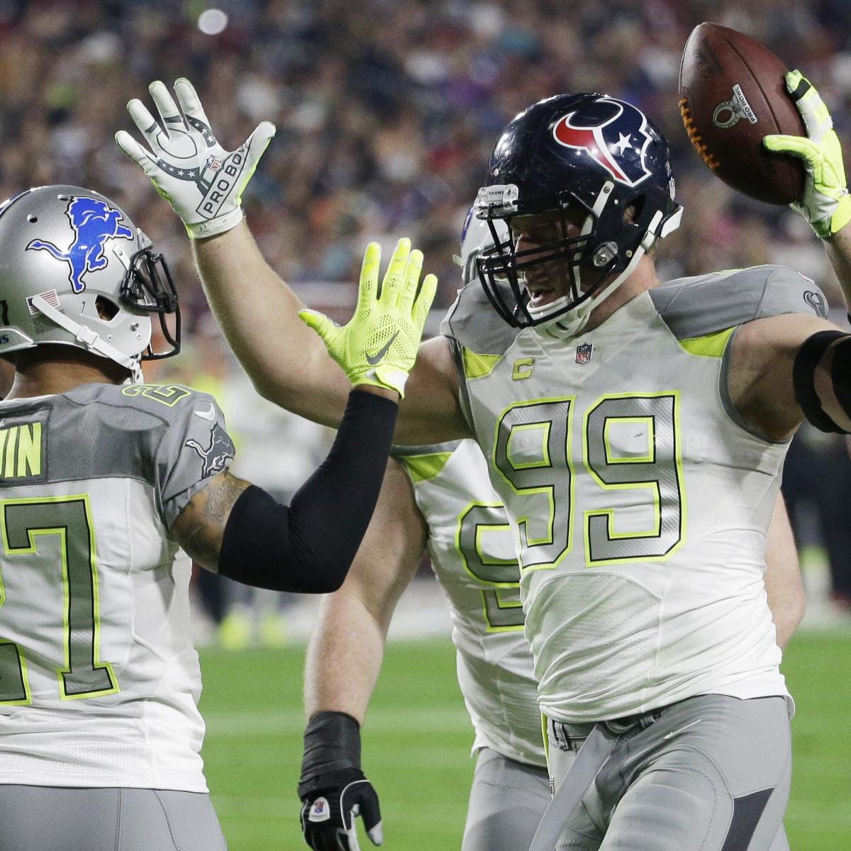 save off 8b13f 77814 Pro Bowl 2015: Final Score and Stats for NFL Showcase's Top ...
