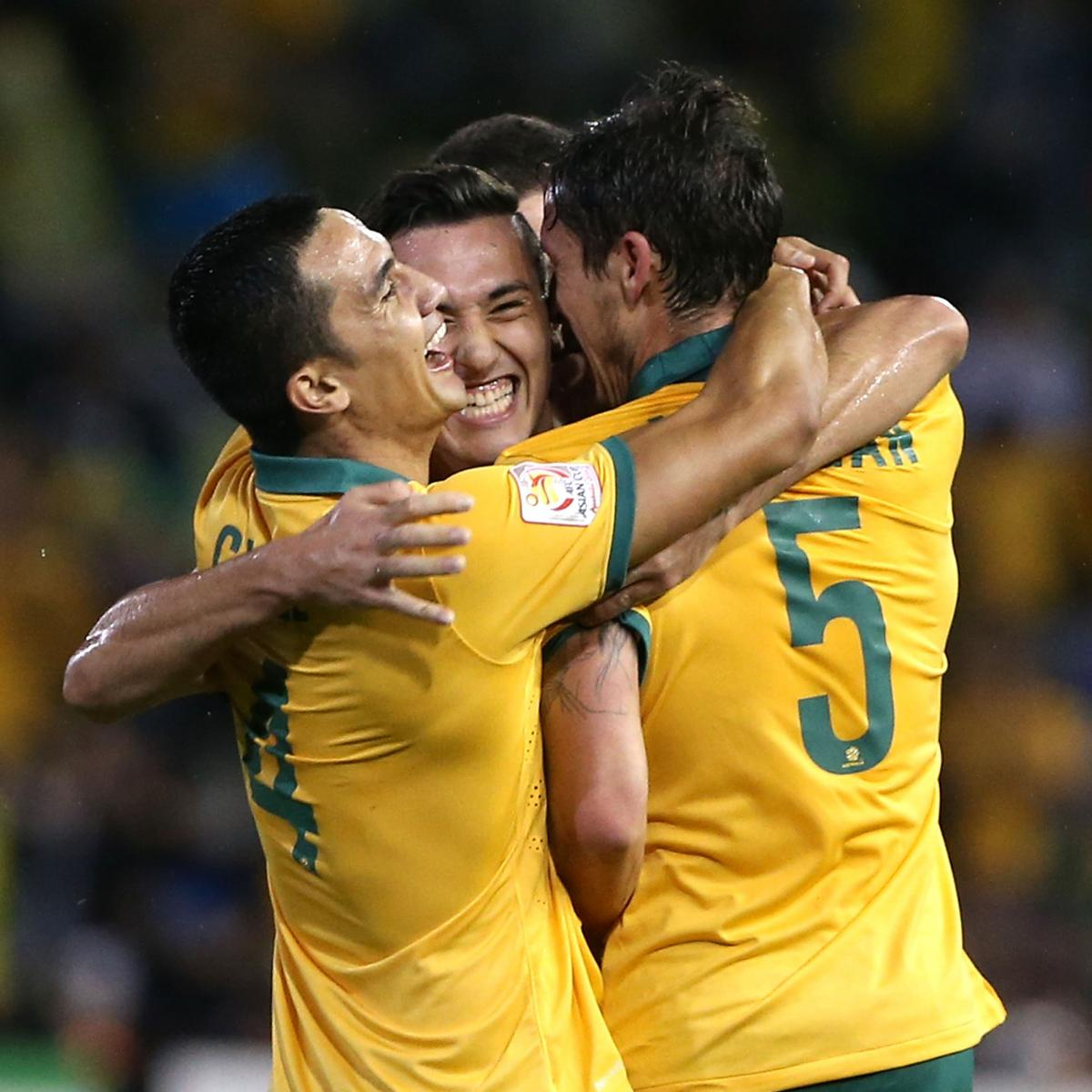 Asian Cup 2015: Semi-Final Scores, Results, Updated Draw ...