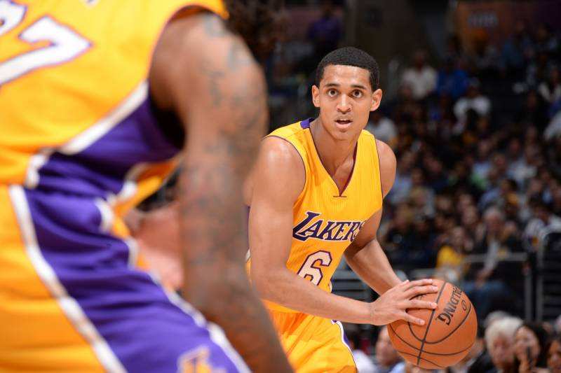 91bd198a7afc Jordan Clarkson Is Clear-Cut Choice at Point Guard for Los Angeles Lakers