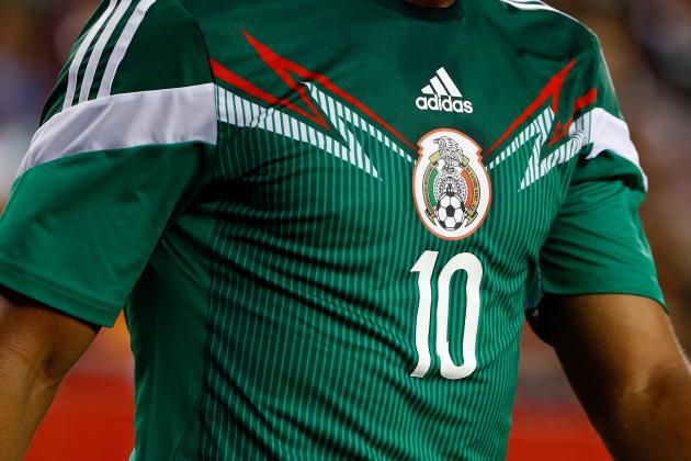 90aadbda5 Mexico Kit Change from Green to Black Leaves Supporters Baffled ...